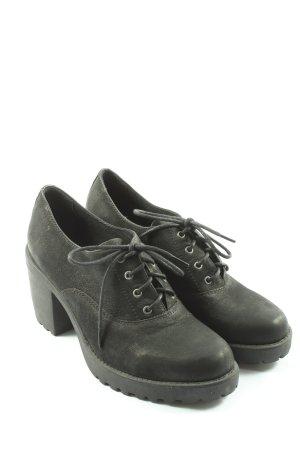 Vagabond Lace Shoes black elegant