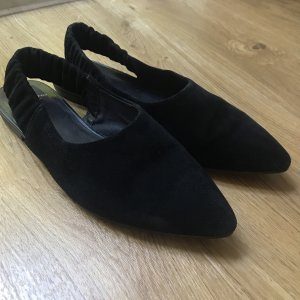 Vagabond Slingback Ballerinas black leather