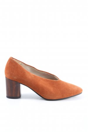 Vagabond Spitz-Pumps hellorange Business-Look