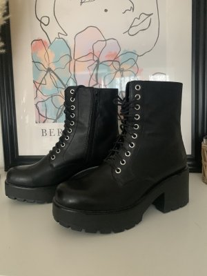 Vagabond Aanrijg laarzen zwart