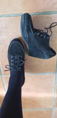 Vagabond Wedge Booties black