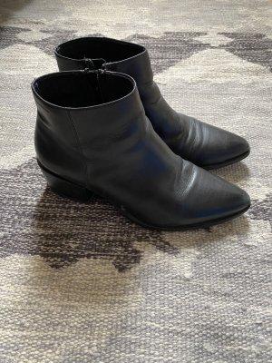 Vagabond Stiefeletten schwarz 40 Leder spitz