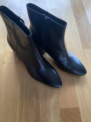 Vagabond Stoefel Schuhe Stiefelette schwarz Leder 39