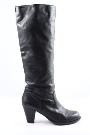 Vagabond Wide Calf Boots black casual look