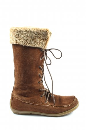 Vagabond Winter Boots brown casual look