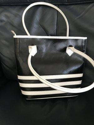 VALENTINA ITALY Tragetasche Damen Handtasche Leder. B32 x H26 x T