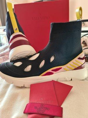 Valentino Garavani Sneaker alta multicolore