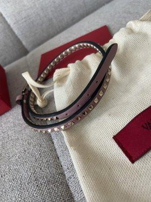Valentino Skórzane ozdoby na ręce  różany