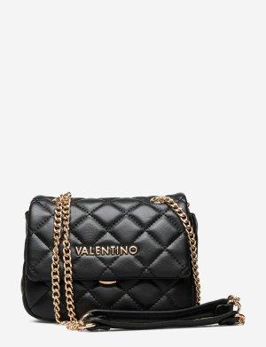 By Mário Valentino Gekruiste tas zwart Polyurethaan