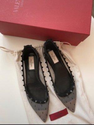 Valentino Classic Ballet Flats black