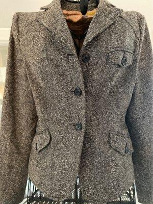 RED Valentino Tweed Blazer grey brown