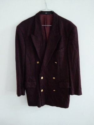 Valentino Oversized Jacket gold-colored-blackberry-red
