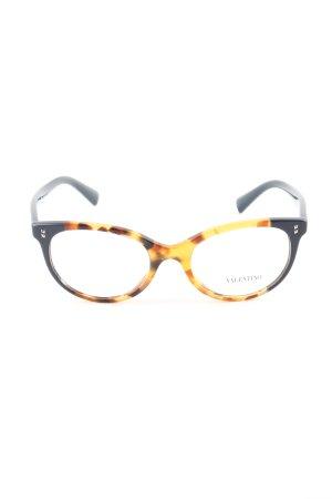 Valentino Brille blassgelb-schwarz Casual-Look