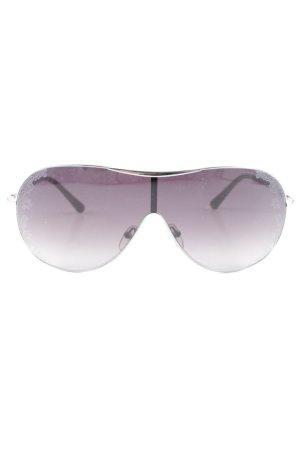 Valentino Glasses brown flower pattern street-fashion look