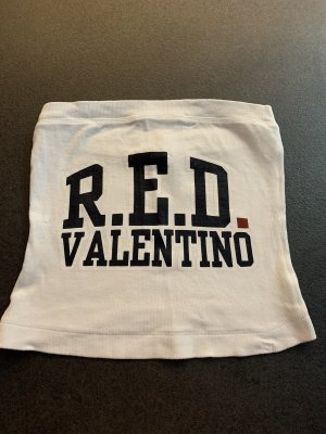 RED Valentino Top tipo bustier blanco