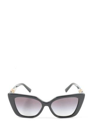 Valentino Okulary motylki czarny W stylu casual