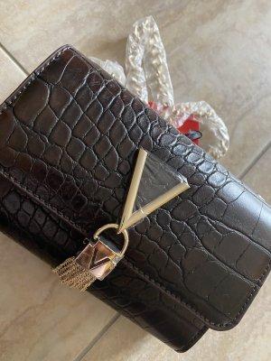 Valentino by Mario braune Tasche nagelneu Gold Damen Umhängetasche☺️
