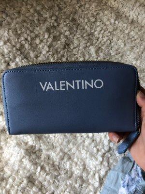 Mario Valentino Portefeuille bleu azur