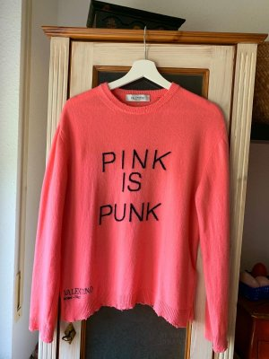 Valentino Cashmere Sweater Pink Gr M