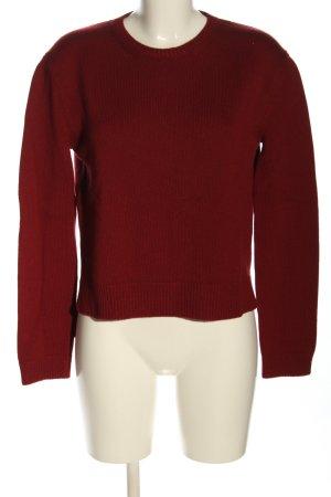 Valentino Pullover in cashmere rosso stile casual