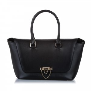 Valentino Demilune Leather Satchel