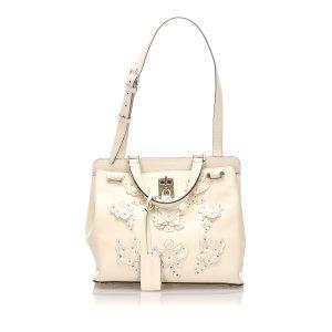 Valentino Floral Embellished Joylock Bag