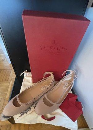 Valentino Garavani Ballerinas #leder#nieten#poudre# diamond