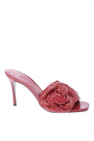 """Valentino Garavani High Heel Sandaletten """"Rose High Heel Slipper"""" rot"""