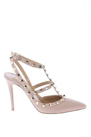 """Valentino Garavani Riemchenpumps """"Rockstud Ankle Strap Pump"""" pink"""