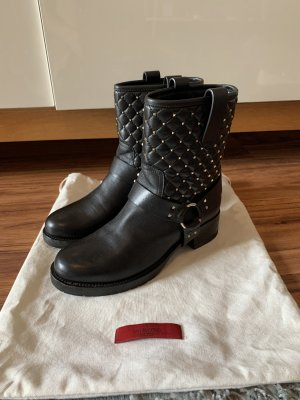 Valentino Garavani Rockstud Biker Boots