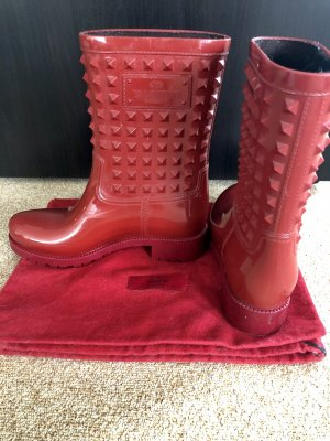 Valentino Garavani Wellies red