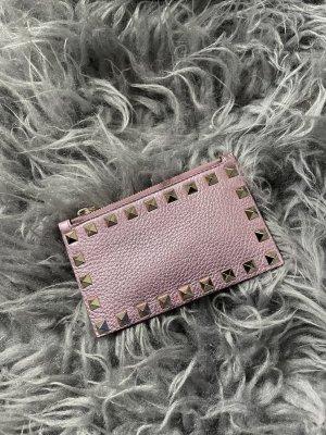 Valentino Garavani Porte-cartes rose clair