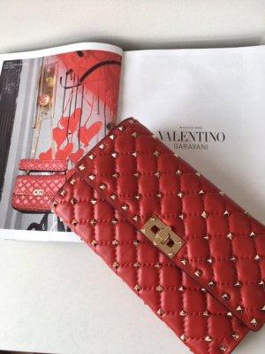 Valentino Garavani rockstud Spike clutch Leder