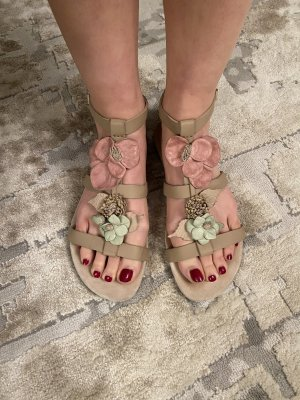 Valentino Garavani Roman Sandals multicolored