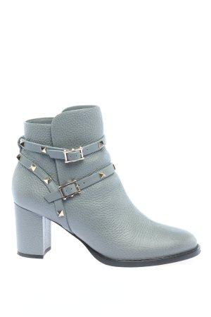 Valentino Garavani Wciągane buty za kostkę niebieski W stylu biznesowym
