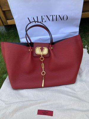 Valentino Garavani Shopper red