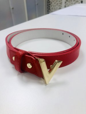 Valentino Leather Belt red