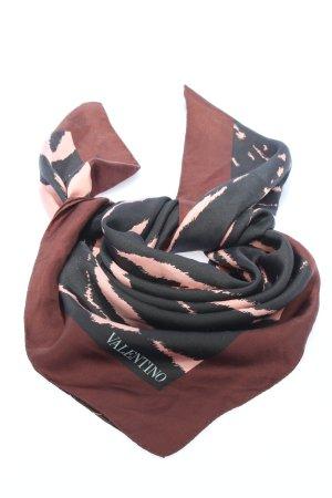 Valentino Neckerchief abstract pattern casual look