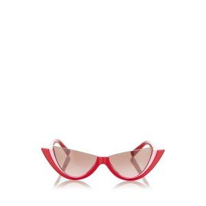 Valentino Havana Tinted Sunglasses