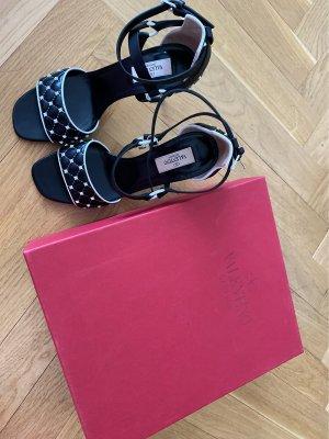 Valentino High Heel Sandal black-white