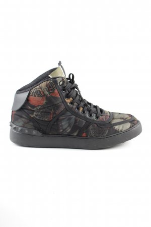 Valentino High Top Sneaker schwarz Allover-Druck Casual-Look