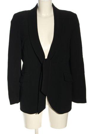 Valentino Klassischer Blazer schwarz Business-Look