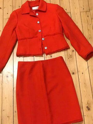 Valentino Ladies' Suit red silk