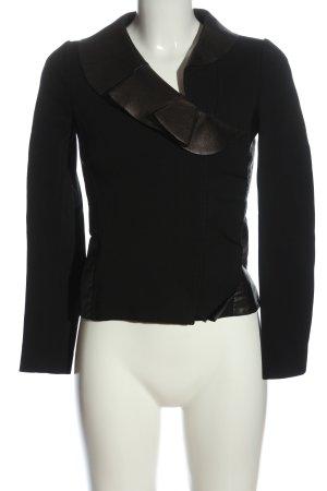 Valentino Korte blazer zwart-zilver elegant