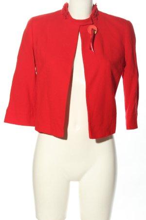 Valentino Korte blazer rood casual uitstraling