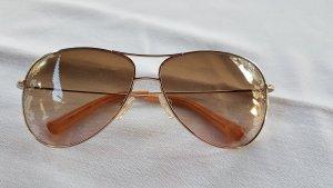 Valentino Gafas de sol ovaladas color oro-marrón claro