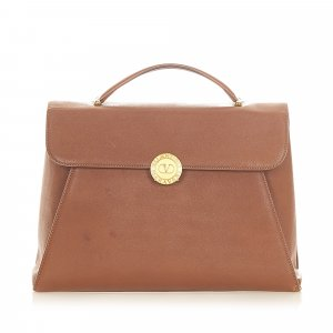 Valentino Business Bag brown leather