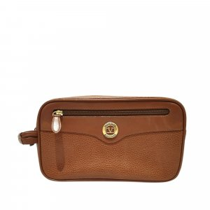 Valentino Clutch brown leather