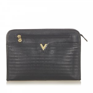 Valentino Leather Clutch Bag