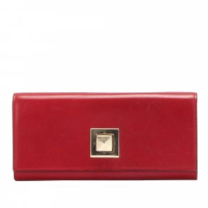 Valentino Leather Long Wallet